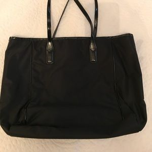 Banana Republic Black Nylon Tote